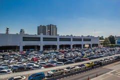 Parques de estacionamento Fotografia de Stock