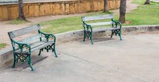 Parques de la silla fotografía de archivo libre de regalías