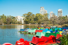 Parques de Palermo, Buenos Aires Fotos de archivo libres de regalías