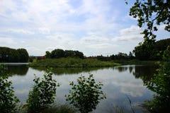 Parques e lagos de Dinamarca Imagens de Stock