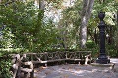 Parques en un bosque Fotografía de archivo