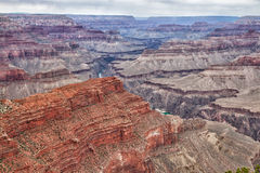 Parques nacionais Rim-Rim Trail da garganta AZ-grande foto de stock
