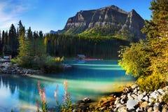 Parques nacionales canadienses en Alberta imágenes de archivo libres de regalías