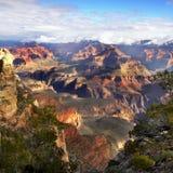 Parques nacionales de los E.E.U.U., parque nacional de Grand Canyon fotos de archivo libres de regalías