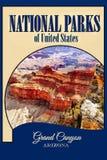 Parques nacionales los E.E.U.U., Grand Canyon NP, cartel del viaje fotografía de archivo