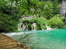Parques naturales de Plitvice imágenes de archivo libres de regalías