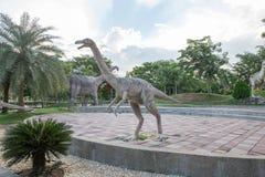 Parques públicos das estátuas e do dinossauro em KHONKEAN, TAILÂNDIA Imagem de Stock Royalty Free