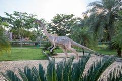 Parques públicos das estátuas e do dinossauro em KHONKEAN, TAILÂNDIA Foto de Stock Royalty Free