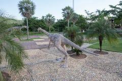 Parques públicos das estátuas e do dinossauro em KHONKEAN, TAILÂNDIA Imagens de Stock Royalty Free