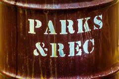 Parques y reconstrucción fotos de archivo libres de regalías