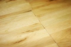 Parquet. Unfinished bright parquet ready for to parquet Royalty Free Stock Image