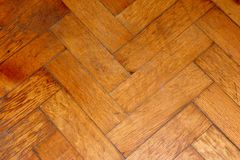 Old parquet background, texture. Background in the form of flooring. Parquet. Repetitive structure Stock Photography