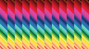 Parquet colorful hypnosis background Stock Photo