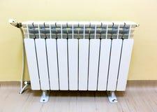 Parquet da parede do radiador imagem de stock