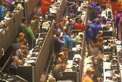 Parquet de la junta de comercio de Chicago, Chicago, Illinois Foto de archivo