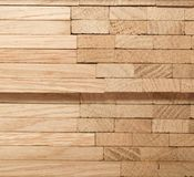 Parquet di legno della quercia Fotografie Stock Libere da Diritti