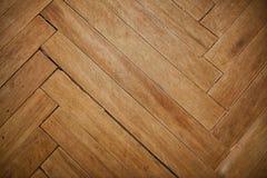 parquet di legno, vecchio, graffiato, Fotografie Stock