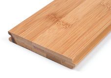 parquet en bambou image stock