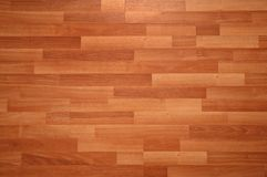 Parquet en bois Photos stock