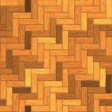 Parquet en bois de texture sans couture, illustration 3D parquetante en stratifié Photos stock