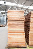 Parquet factory Stock Images