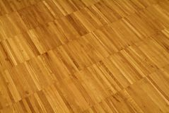 Parquet floor. Parquet wooden floor in home interiors Stock Photo