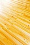 Parquet floor diagonal Stock Photos