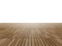 Parquet floor to horizon Royalty Free Stock Photography