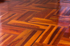 Parquet floor Stock Image