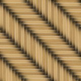 Parquet pattern mounted at an angle Stock Image