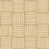 Parquet pattern - seamless wood background Royalty Free Stock Photography