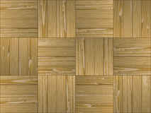 Parquet pattern semless Stock Photography