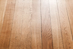 Parquet perspective, oak planks background Royalty Free Stock Photography