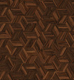 Parquet rhombus hexagon repeating Stock Image