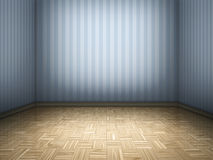 Parquet room Royalty Free Stock Photo