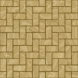 Parquet rootwood Royalty Free Stock Photography