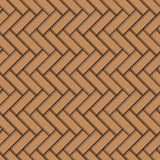 Parquet seamless vector background Royalty Free Stock Photography