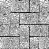 Parquet small texture black and white Royalty Free Stock Photography