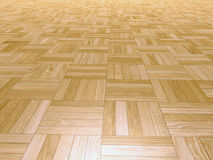 Parquet square shapes Stock Photos