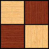 Parquet Vector Seamless Pattern. Hardwood Flooring Royalty Free Stock Photos