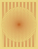 Parquet wood circle pattern Stock Photography