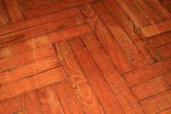 Parquet wood floor Stock Image