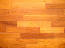 Parquet wood floor Stock Images