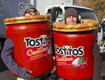 Parraineur 2012 de défilé de cuvette de fiesta Photos libres de droits