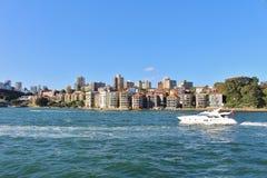 Parramatta flod Royaltyfria Bilder