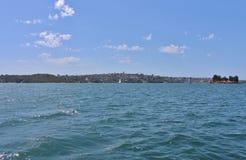 Parramatta flod Royaltyfria Foton