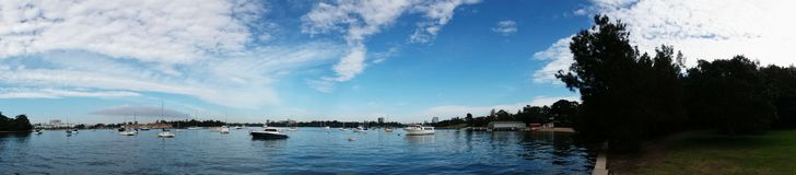 Parramatta River @ Putney Australia Royalty Free Stock Photography