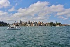 Parramatta rzeka Fotografia Royalty Free