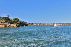 Parramatta rzeka Obrazy Royalty Free