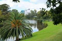 Parramattarivier in Parramatta, Australië Royalty-vrije Stock Afbeeldingen
